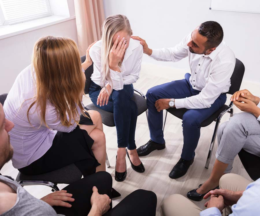 Partial Hospitalization Treatment Group Therapy